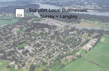 Support Local Businesses: Surrey + Langley