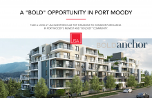 A 'BOLD' Opportunity in Port Moody